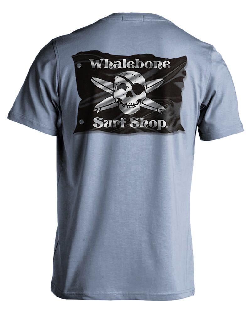 Whalebone Logo 3D FLAG PREMIUM SHORT SLEEVE TEE