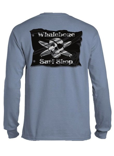 Whalebone Logo 3D FLAG LONG SLEEVE TEE