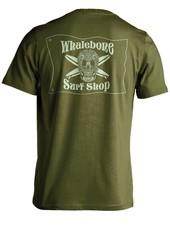 Whalebone Logo INTRICATE GLOW PREMIUM SHORT SLEEVE TEE