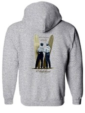 Whalebone Logo WRIGHT BROS DESIGN PULLOVER HOODIE