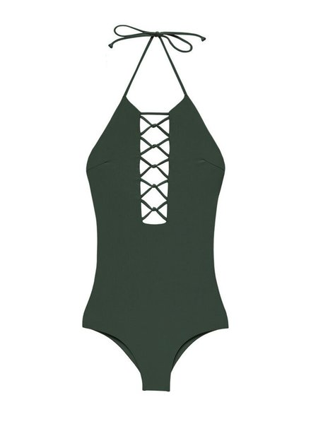 Citrine CITRINE SWIM HIBISCUS ONE PIECE