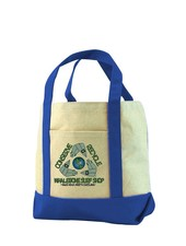 Whalebone Logo CONSERVE+RECYCLE WHALEBONE TOTE BAG