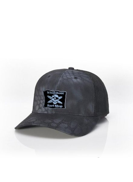 Whalebone Logo LOGO HAT - MESH BACK TWILL FRONT ADJUSTABLE