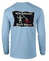 Whalebone Logo BLACKBEARD LONG SLEEVE TEE