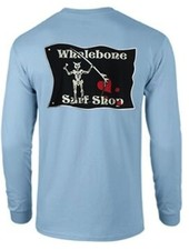 Whalebone Logo BLACKBEARD LONG SLEEVE TEE