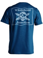 Whalebone Logo *WHALEBONE JUNCTION BLUE FLAG PREMIUM SHORT SLEEVE TEE