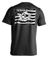 Whalebone Logo MILITARY FLAG LOGO PREMIUM SHORT SLEEVE TEE