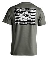 Whalebone Logo MILITARY FLAG LOGO SHORT SLEEVE TEE