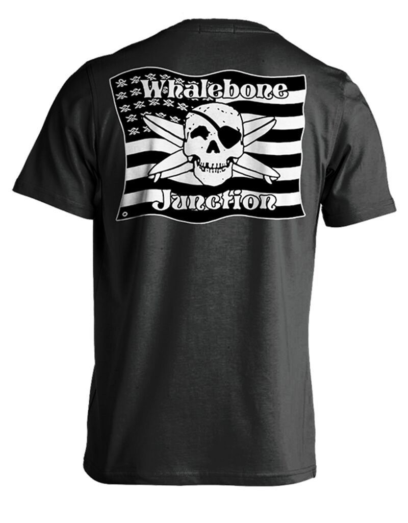 Whalebone Logo MILITARY FLAG LOGO SHORT SLEEVE TEE