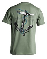 Whalebone Logo ANCHOR PREMIUM BLEND SHORT SLEEVE TEE