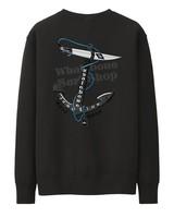 Whalebone Logo ANCHOR CREW FLEECE