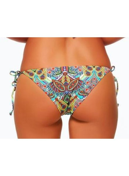 L*Space LSPACE ZULU TRIBAL TWO TIMER TIE SIDE BOTTOM