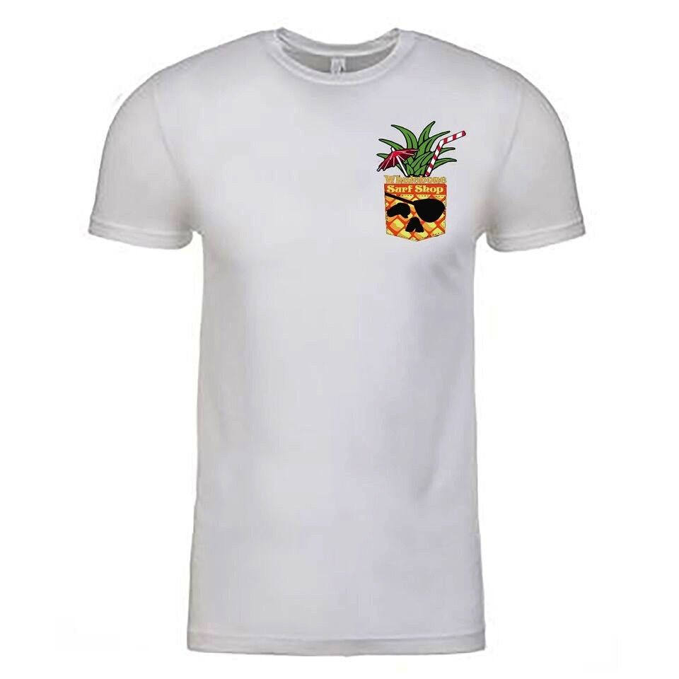 Whalebone Logo PINEAPPLE POCKET PREMIUM SHORT SLEEVE TEE
