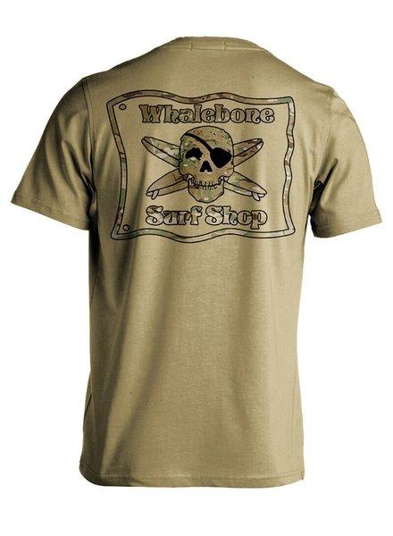 Whalebone Logo MULTICAM SHORT SLEEVE TEE