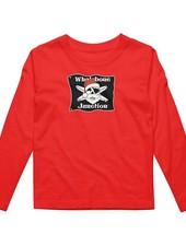 Whalebone Logo ***KIDS WHALEBONE SANTA LONG SLEEVE TEE