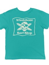 Whalebone Logo LITTLE KIDS WHALEBONE SURF SHOP GLOW SHORT SLEEVE TEE