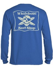 Whalebone Logo *WHALEBONE SURF SHOP GLOW LOGO LIGHT LONG SLEEVE TEE