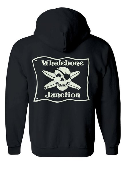 Whalebone Logo *WHALEBONE JUNCTION GLOW ZIP UP HOODIE W/ SOUTH 12 ON CUFF