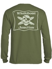 Whalebone Logo WHALEBONE JUNCTION GLOW LOGO LONG SLEEVE TEE