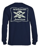 Whalebone Logo *WHALEBONE JUNCTION GLOW LOGO LIGHT LONG SLEEVE TEE