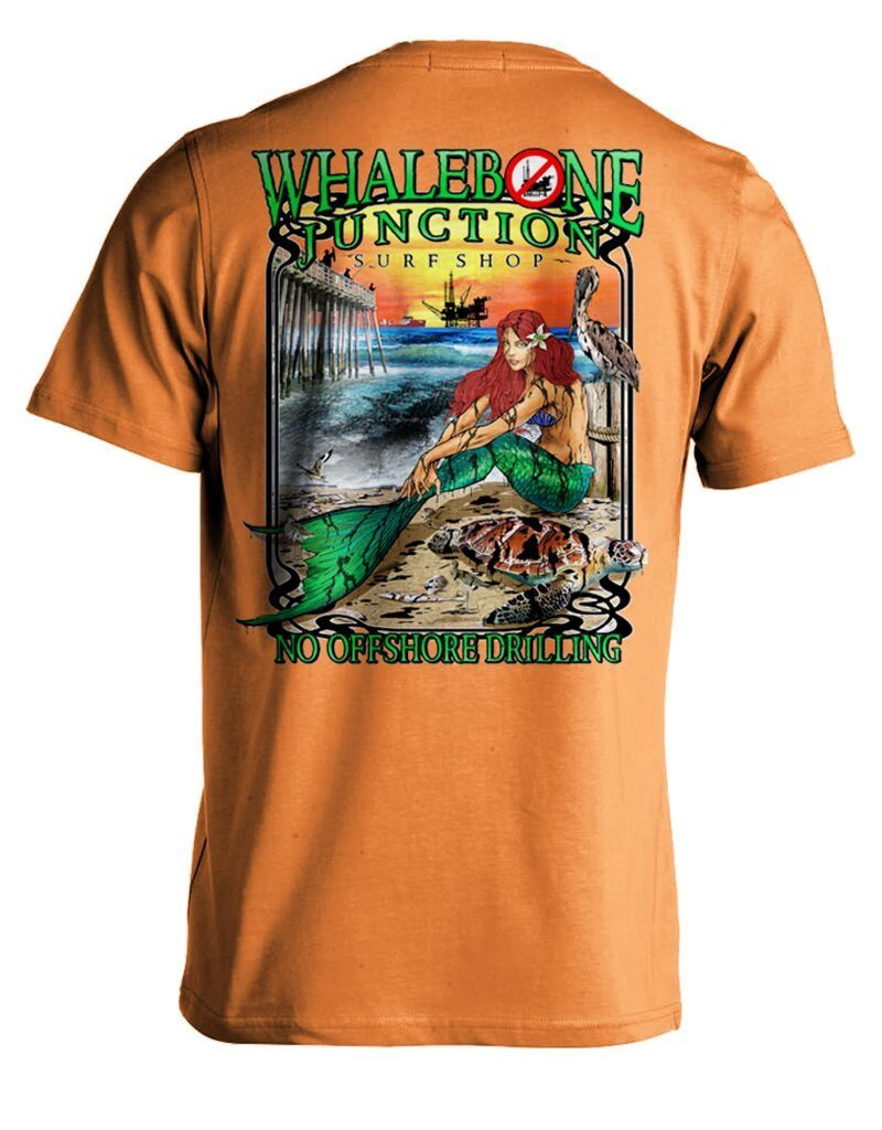 Whalebone Logo OILY MERMAID-NO DRILLING SHORT SLEEVE TEE