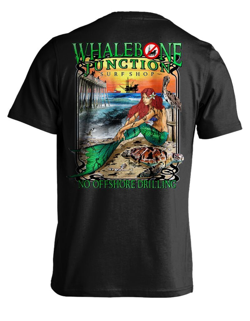 Whalebone Logo OILY MERMAID-NO DRILLING SHORT SLEEVE TEE