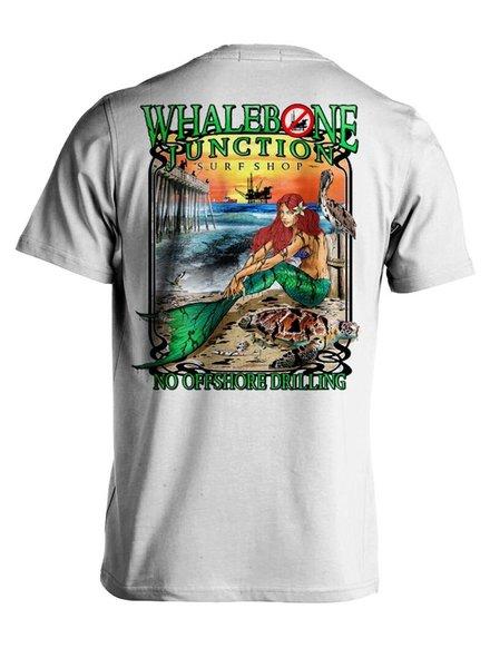 Whalebone Logo OILY MERMAID-NO DRILLING PREMIUM SHORT SLEEVE TEE