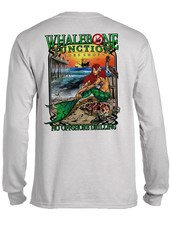 Whalebone Logo OILY MERMAID-NO DRILLING LONG SLEEVE TEE