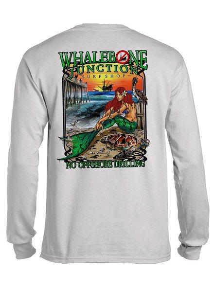 Whalebone Logo OILY MERMAID-NO DRILLING LONG SLEEVE TEE