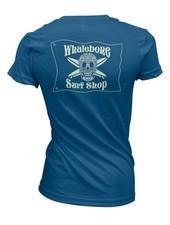 Whalebone Logo WOMENS INTRICATE GLOW BOYFRIEND SHORT SLEEVE TEE