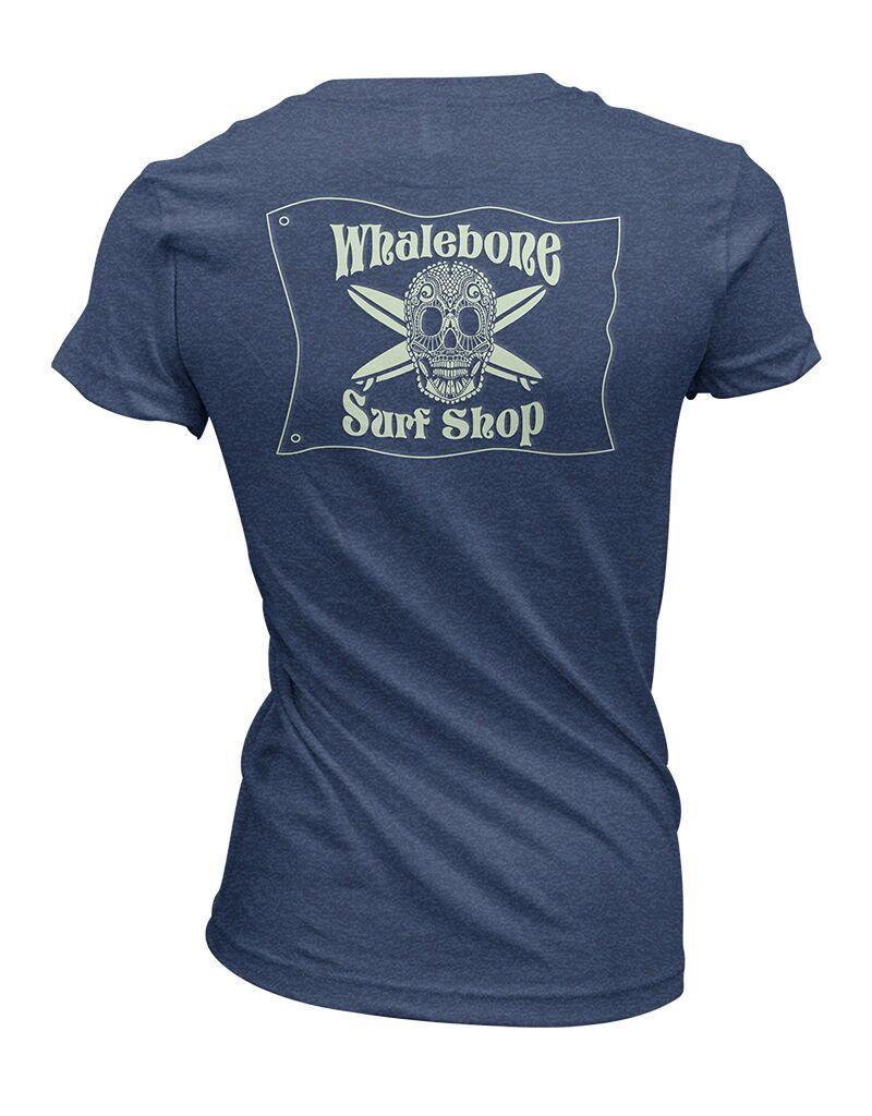 Whalebone Logo WOMENS INTRICATE GLOW PREMIUM BLEND SHORT SLEEVE TEE