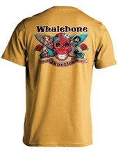 Whalebone Logo DAY OF THE DEAD PREMIUM SHORT SLEEVE TEE