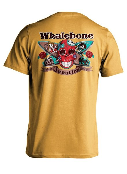Whalebone Logo DAY OF THE DEAD PREMIUM SHORT SLEEVE TEE