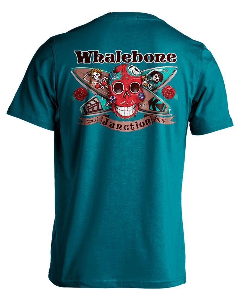 Whalebone Logo DAY OF THE DEAD SHORT SLEEVE TEE