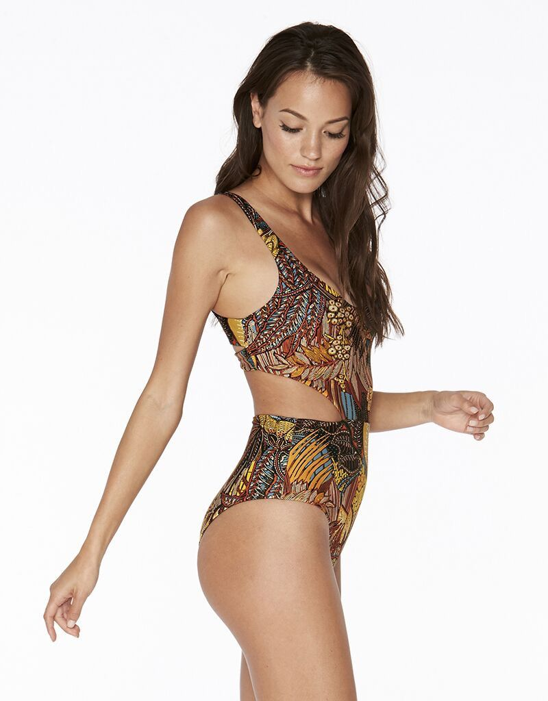 L*Space *NEW* LSPACE TIKI COAST RITA ONE PIECE