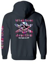 Whalebone Logo RESIN DRIP PULLOVER HOODIE