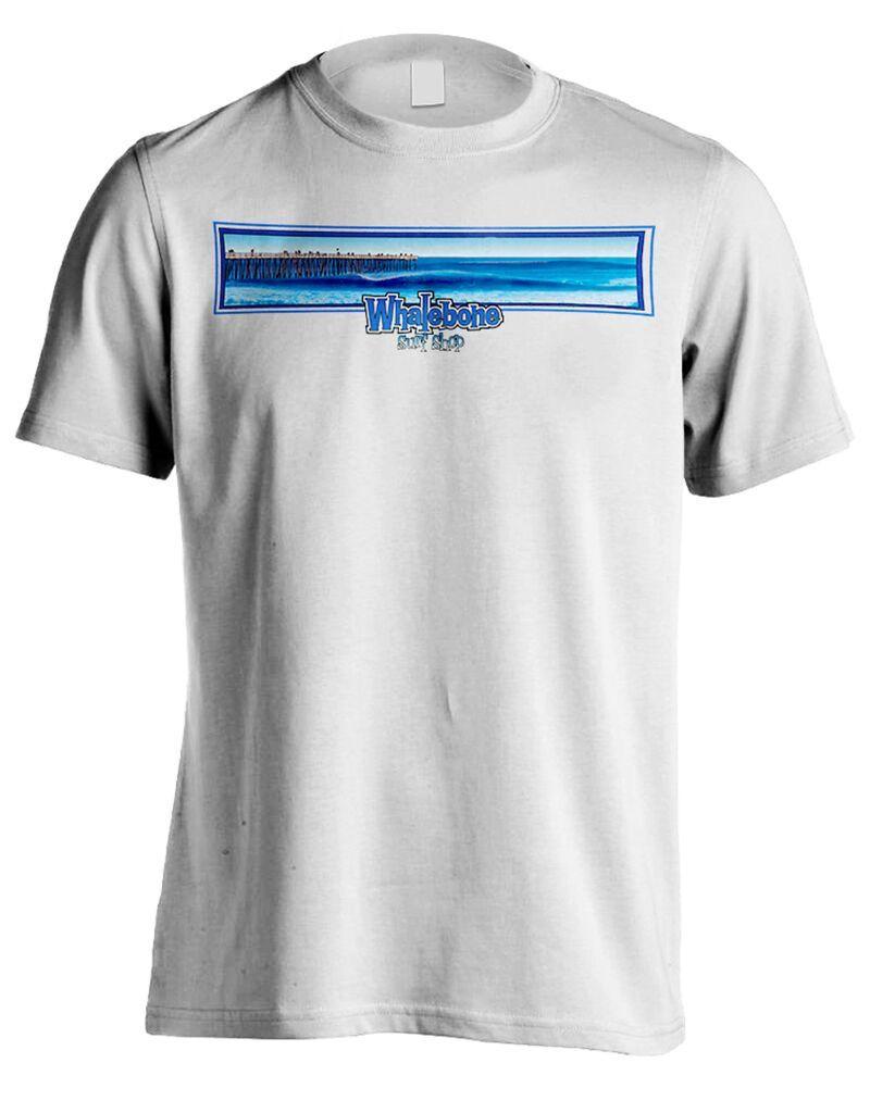 Whalebone Logo KITTY HAWK PIER WB LOGO PREMIUM SHORT SLEEVE TEE