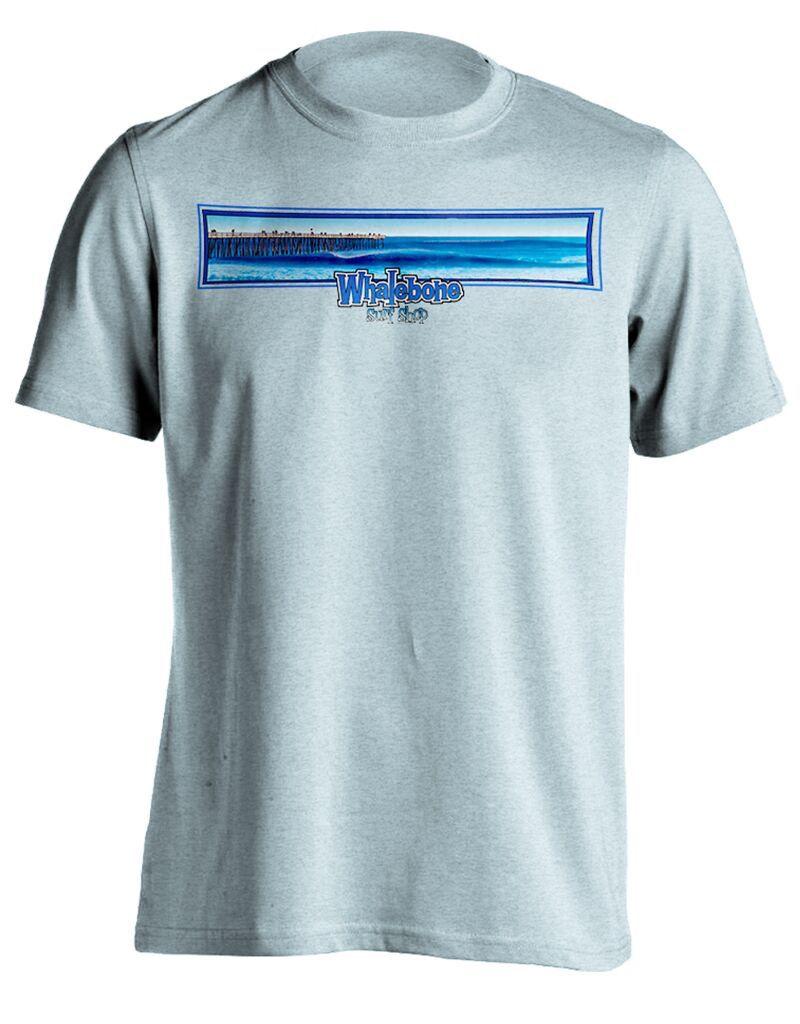 Whalebone Logo KITTY HAWK PIER WB LOGO PREMIUM BLEND SHORT SLEEVE TEE