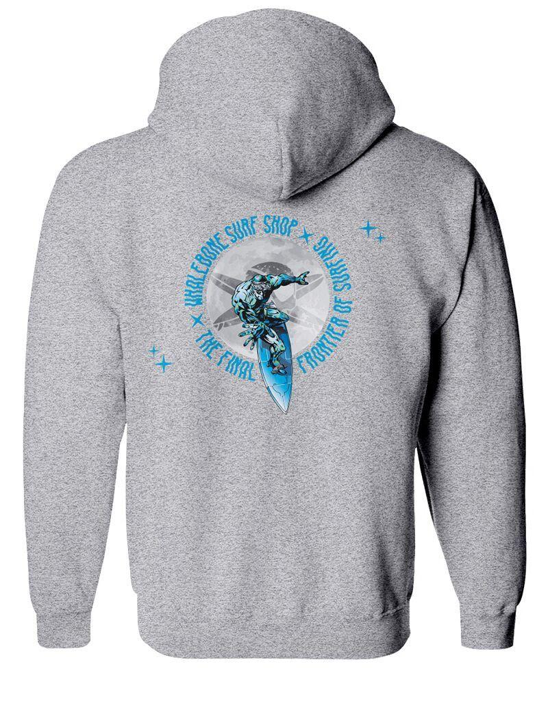 Whalebone Logo STEALTH SURFER PULLOVER HOODIE
