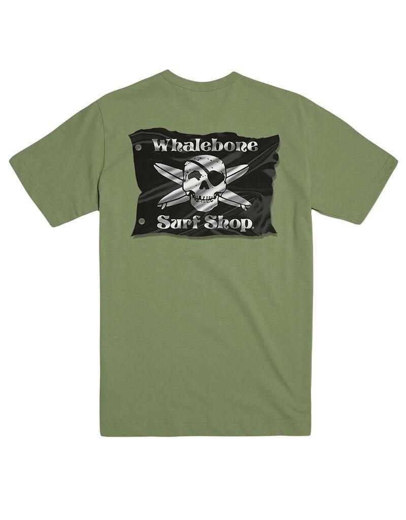 Whalebone Logo 3D FLAG PREMIUM COTTON LINKS SHORT SLEEVE TEE