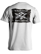 Whalebone Logo 3D FLAG PREMIUM COTTON LINKS SHORT SLEEVE TEE