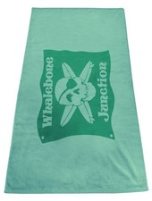 Whalebone Logo LOGO TOWEL - WHALEBONE JUNCTION SCREEN PRINT TOWEL 32x64