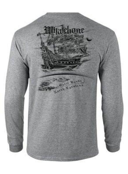 Whalebone Logo AIRSHIP LONG SLEEVE TEE