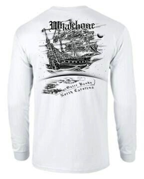 Whalebone Logo AIRSHIP LONG SLEEVE TEE