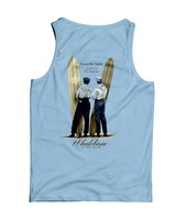 Whalebone Logo MENS WRIGHT BROS DESIGN TANK TOP