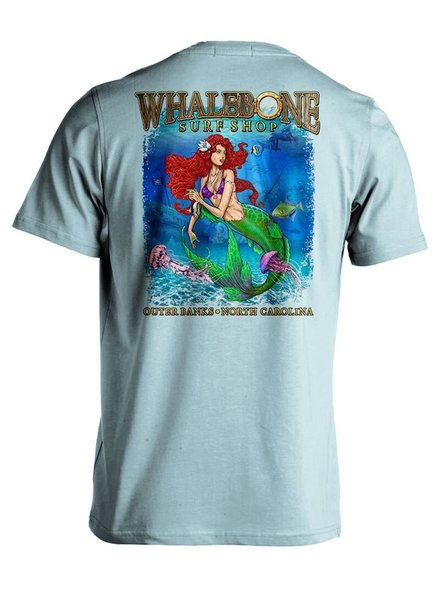 Whalebone Logo PORTHOLE MERMAID PREMIUM BLEND SHORT SLEEVE TEE