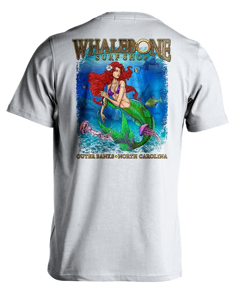 Whalebone Logo PORTHOLE MERMAID PREMIUM SHORT SLEEVE TEE