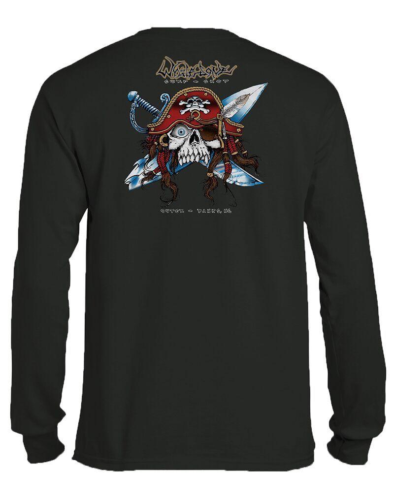 Whalebone Logo GNARLY PIRATE LONG SLEEVE TEE