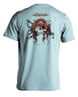 Whalebone Logo GNARLY PIRATE PREMIUM BLEND SHORT SLEEVE TEE