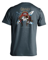 Whalebone Logo GNARLY PIRATE PREMIUM BLEND SHORT SLEEVE TEE